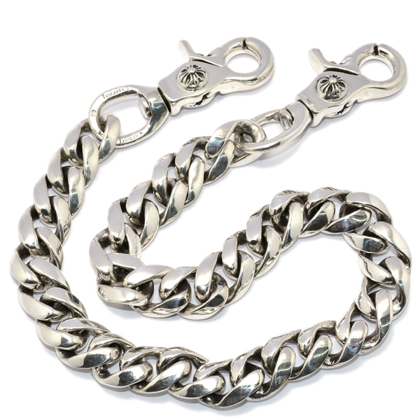 CHROME HEARTS(クロムハーツ) 2 Clip Classic Long Wallet Chain 2クリップクラシックウォレットチェーン 33LINK