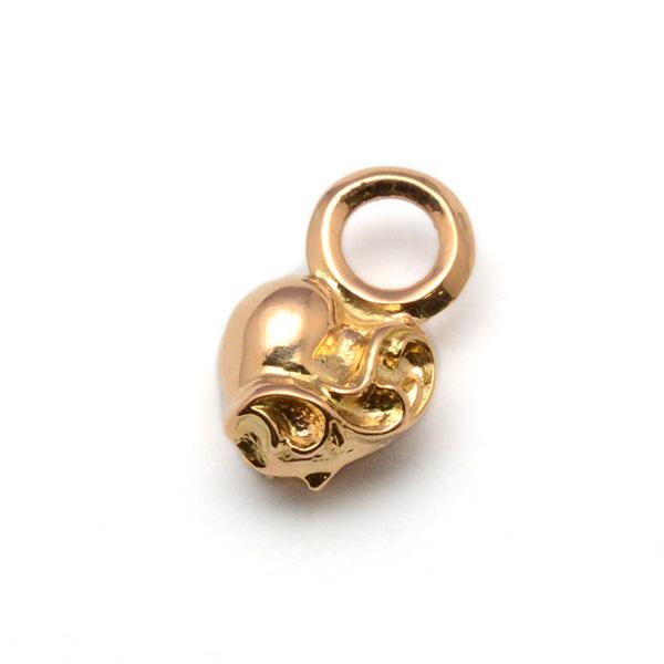 CHROME HEARTS(クロムハーツ)Stack Charm Heart#B 22K スタックチャームハート#B ゴールド