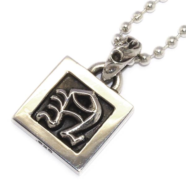 CHROME HEARTS(クロムハーツ)Framed Letter Block M フレームドレターブロックN