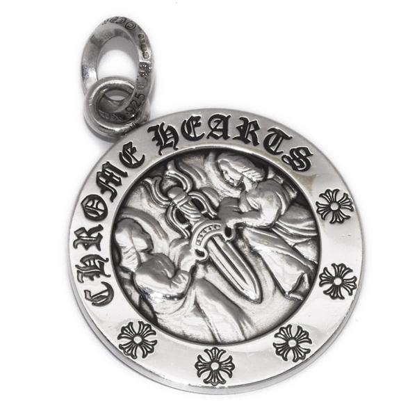 CHROME HEARTS(クロムハーツ)Angel Medallion Pendant エンジェルメダリオンペンダント chp96