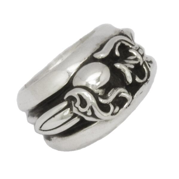 CHROME HEARTS(クロムハーツ) ダガーハートリング/ Dagger Heart Ring