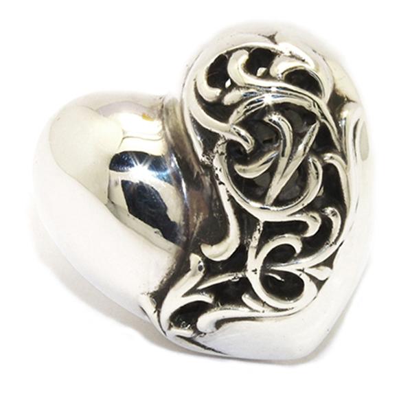 CHROME HEARTS(クロムハーツ)Ring-Heart Large ハートリング ラージchr67