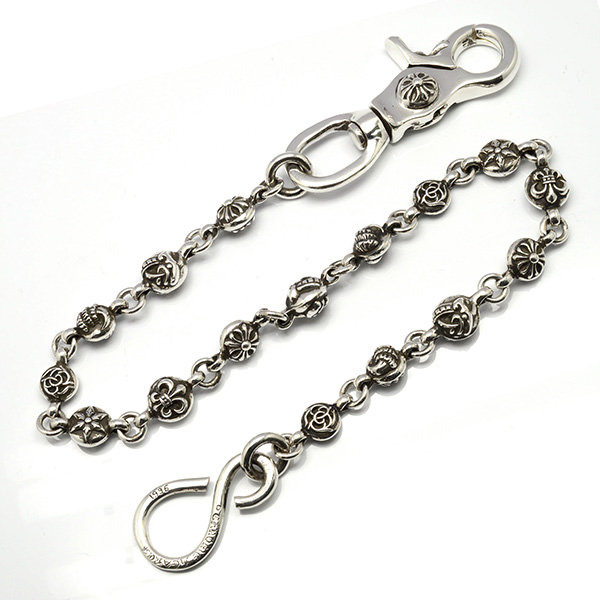 CHROME HEARTS(クロムハーツ) #1マルチボールウォレットチェーン 1 Clip #1 Multi Ball Wallet Chain/16 Link