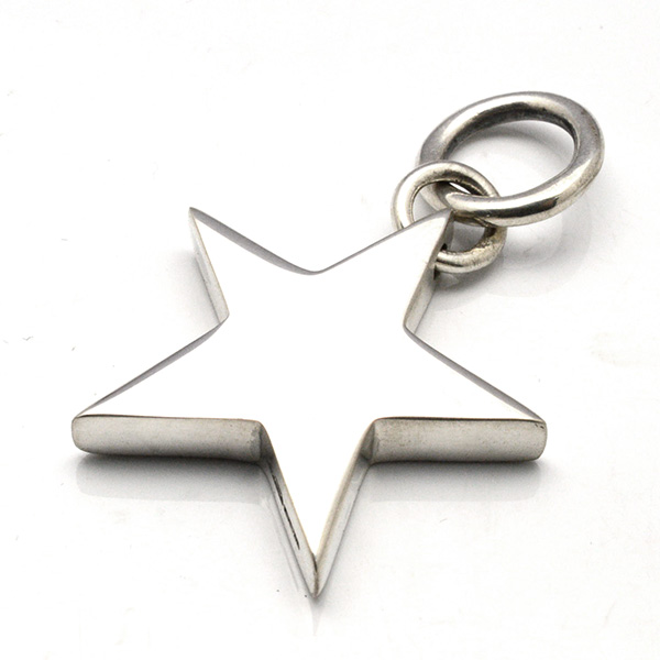 CRAZY PIG DESIGNS(クレイジーピッグ) XL FLAT STAR PENDANT #849 XLフラットスター