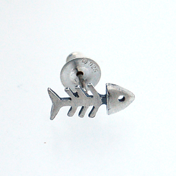 CRAZY PIG DESIGNS(クレイジーピッグ) スモールフィッシュボーンピアス Small Fish Bone #164