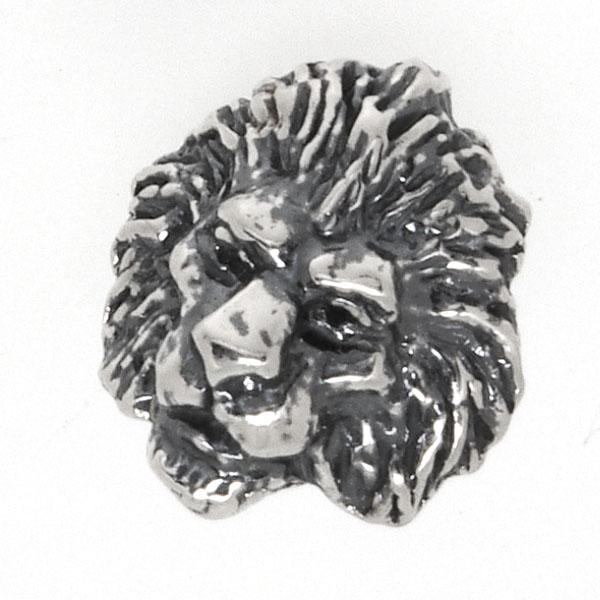CRAZY PIG DESIGNS(クレイジーピッグ) ライオンヘッドスタッドピアス LION HEAD #954