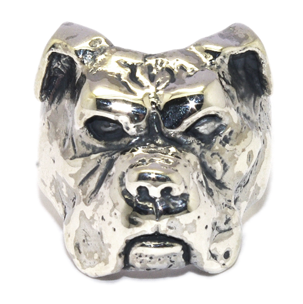 CRAZY PIG DESIGNS(クレイジーピッグ)BOXER DOG RING ボクサードッグリング #1045