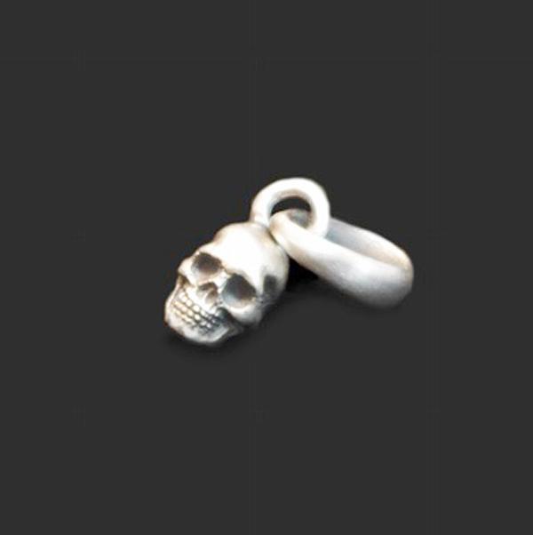 Dualflow(デュアルフロウ)micro skull pendant 【DFT-03】