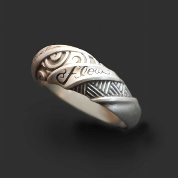 Dualflow(デュアルフロウ)tribal ring 【DFR-22】
