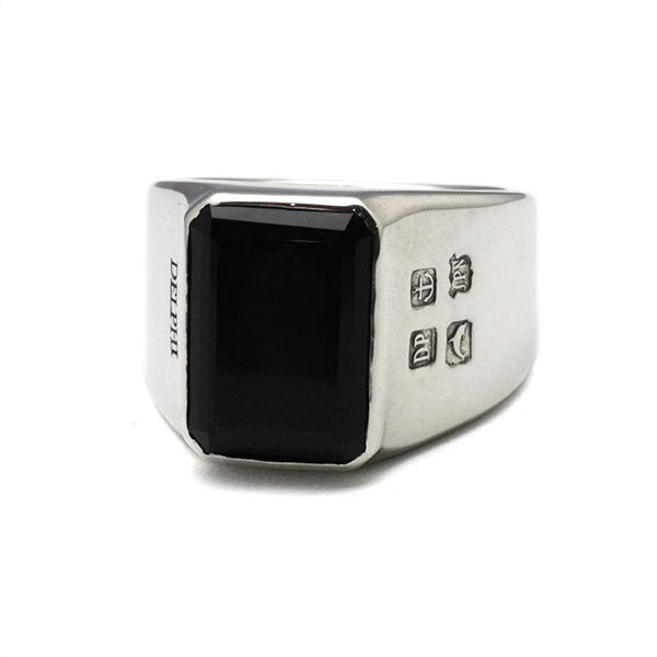 DELPHI(デルフィー)square onix ring  dr3