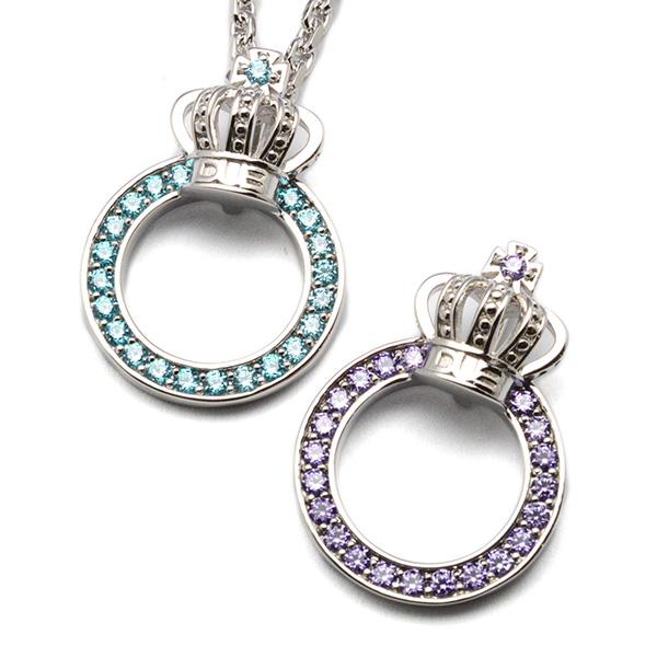 DUB Collection(ダブコレクション)Crown ring Necklace クラウンリングネックレス DUBj-296