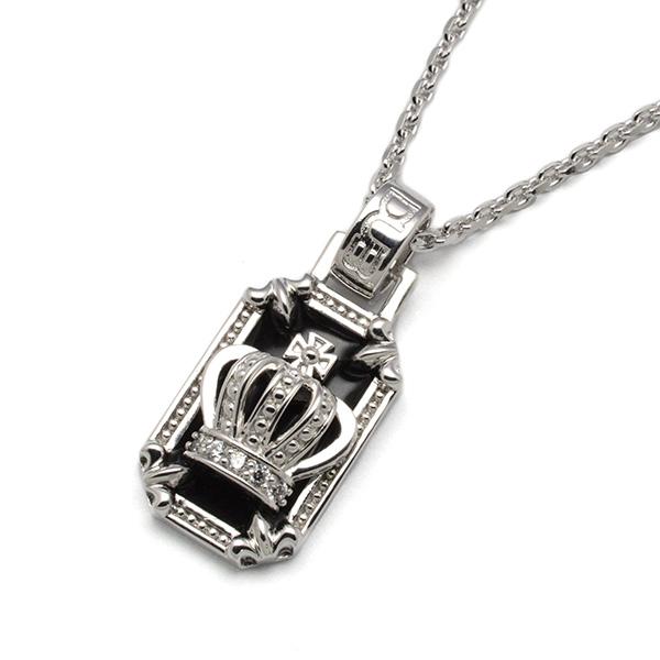DUB Collection(ダブコレクション)Crown frame Necklace  クラウンフレームネックレス  DUBj-317-1