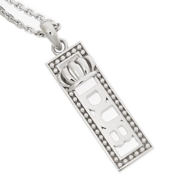 DUB collection(ダブコレクション) Dignity Necklace/ホワイト ペンダント【45cmチェーン付】DUBj-220-2 ネックレス