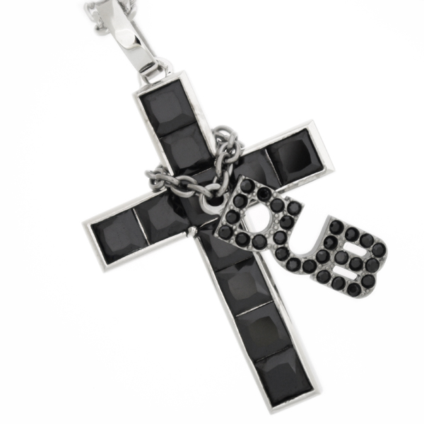 DUB collection(ダブコレクション) Allure Necklace ビッグ/ブラック ペンダント【チェーン付】DUBj-218-1 ネックレス