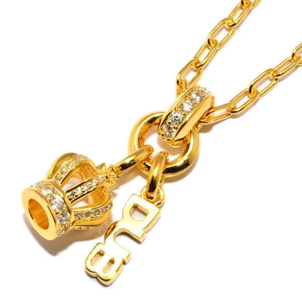 DUB Collection Sway Crown Necklace DUBj-287-2 スウェイクラウンネックレス ゴールドコーティング
