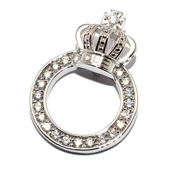 DUB Collection(ダブコレクション)DUBj-296-2 CZ Crown Ring Necklace クラウンリングネックレス【TOPのみ】