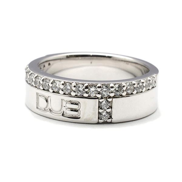 DUB collection(ダブコレクション) Hidden Cross ring メンズリング【DUBj-186-1 WH】