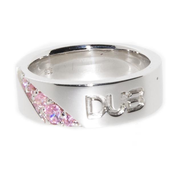 DUB collection(ダブコレクション)Forge a bond Ring【レディース】【 DUBj-217-2】【PK/ピンク】