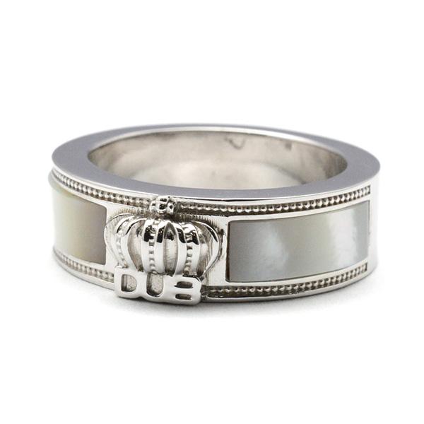 DUB collection(ダブコレクション)Crown Shell  Ring クラウンシェルリング DUBj-309-2