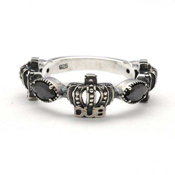 DUB collection(ダブコレクション)ダブコレクション】Classical Crown Ring クラシカルクラウンリング DUBj-267-1
