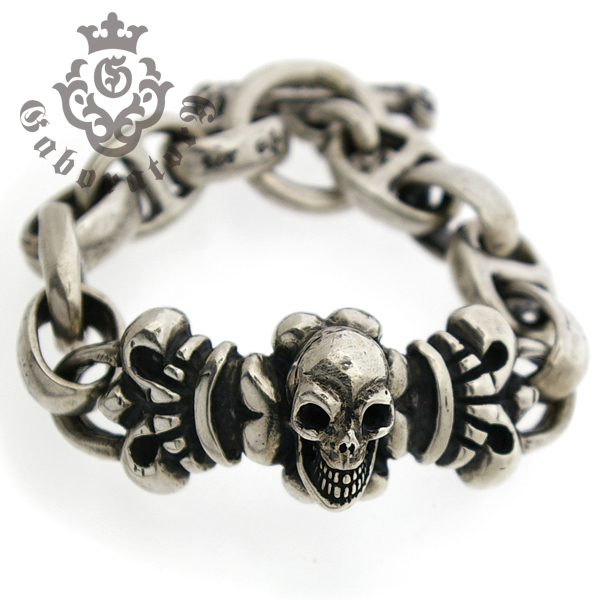 Gaboratory(ガボラトリー) Skull on 4heart ID with h.w.o&anchor links all smooth