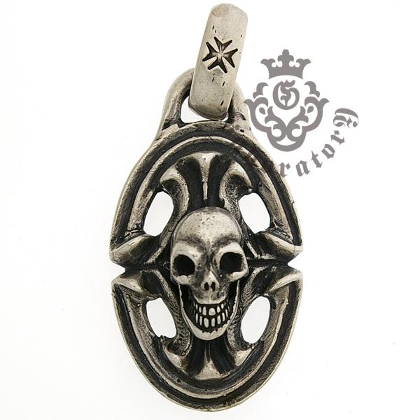 Gaboratory(ガボラトリー) Skull on sculpted oval スカル オン スカルプテッド オーバル 240-A