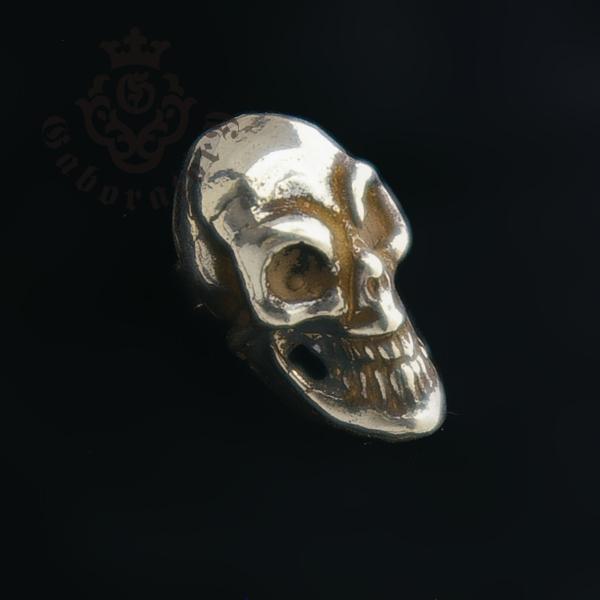 Gaboratory(ガボラトリー) Miniature Skull Earring (1Piece) ミニチュアスカルピアス