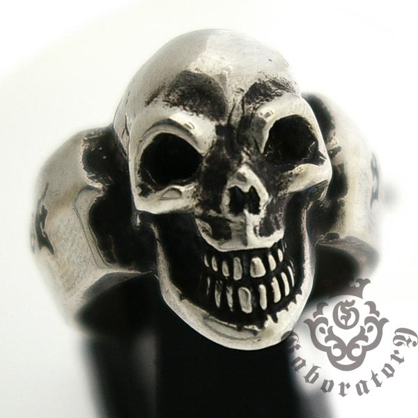 Gaboratory(ガボラトリー) Single Skull Ring シングルスカルリング 130-A