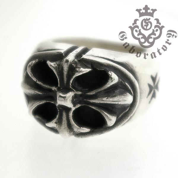 Gaboratory(ガボラトリー) Cross oval ring クロスオーバルリング 131-A