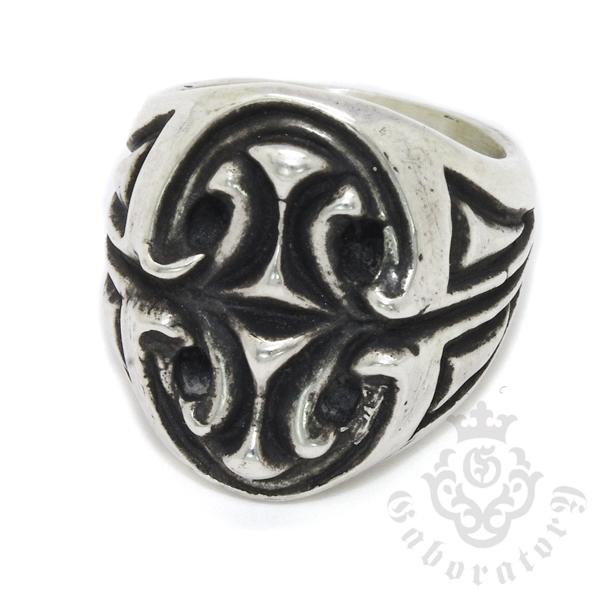 Gaboratory(ガボラトリー) Sculpted oval signet ring スカルプテッドオーバルシグネットリング 151‐A