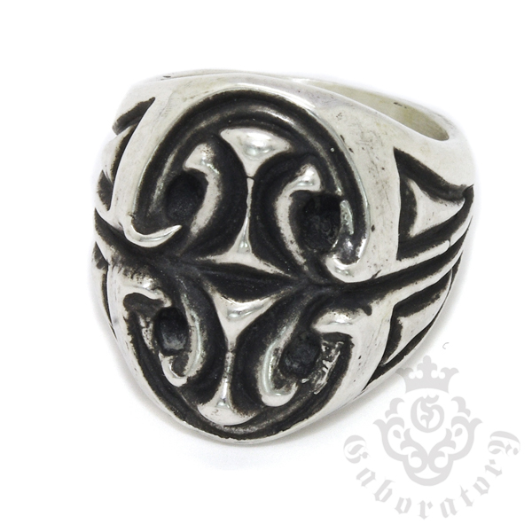 Gaboratory(ガボラトリー) Sculpted oval signet ring スカルプテッドオーバルシグネットリング 151‐A