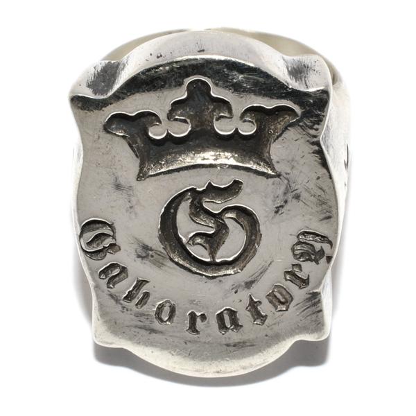 Gaboratory(ガボラトリー) Shield Gaboratory Logo Ring シールドガボラトリーロゴリング