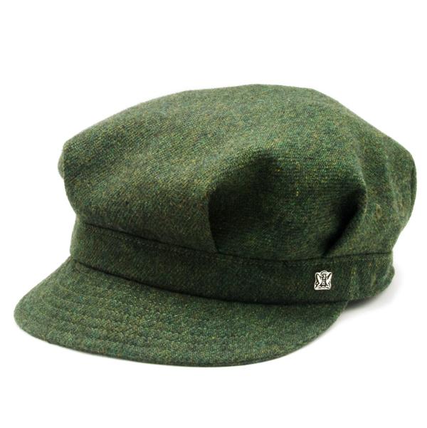 KNOX(ノックス) 【最高品質帽子】ウールレイルロードキャップ(カーキー)912302
