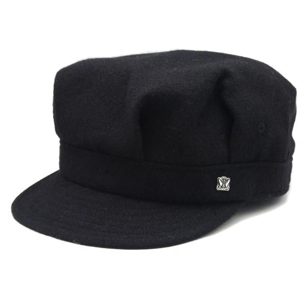 KNOX(ノックス) 【最高品質帽子】ウールレイルロードキャップ(ブラック)912302