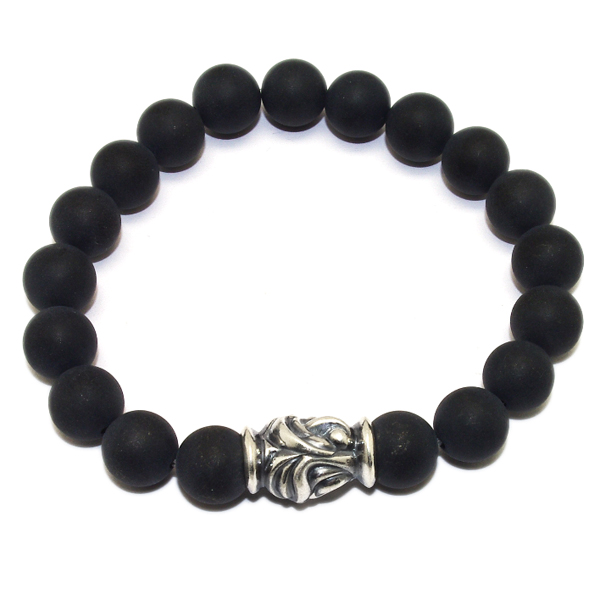 LONE ONES(ロンワンズ)Eagle Bead Onyx(Mat)10mm MFSB-0001-MO