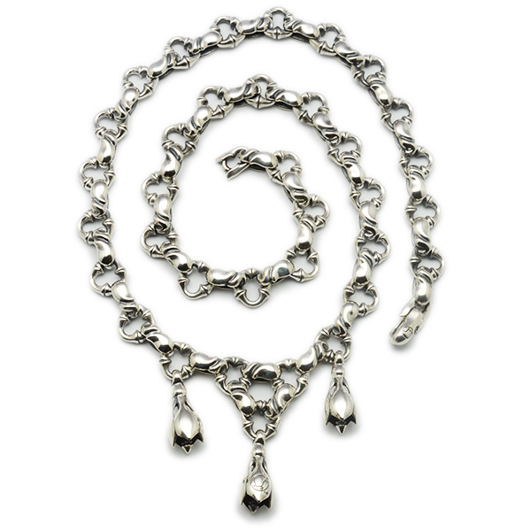 LONE ONES(ロンワンズ)KFN-0003XS Tears Necklace EX Small ティアーズネックレスエクストラスモール