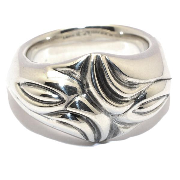 【ロンワンズ リング】LONE ONES Carved Silk Ring L カーブドシルクリングラージ MFR-0004