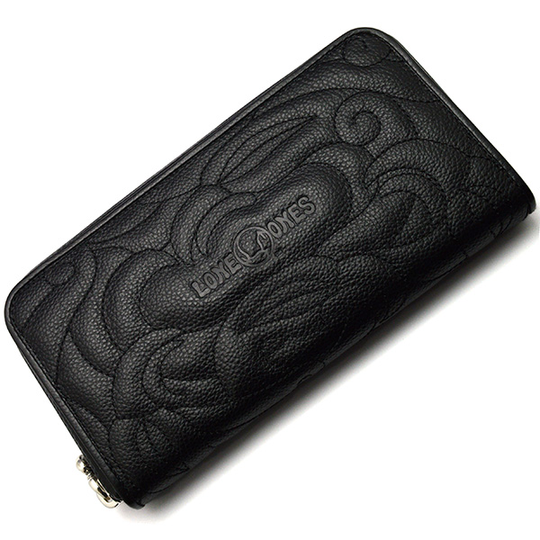 LONE ONES(ロンワンズ)Zipper Wallet Enbroiedry MFW-0013-e