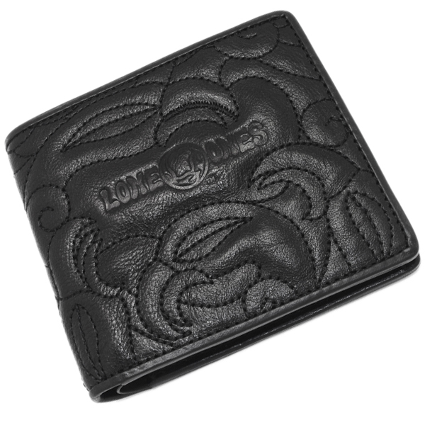 LONE ONES(ロンワンズ) 2 Fold Wallet(Enboroidery) MFW-0014-E