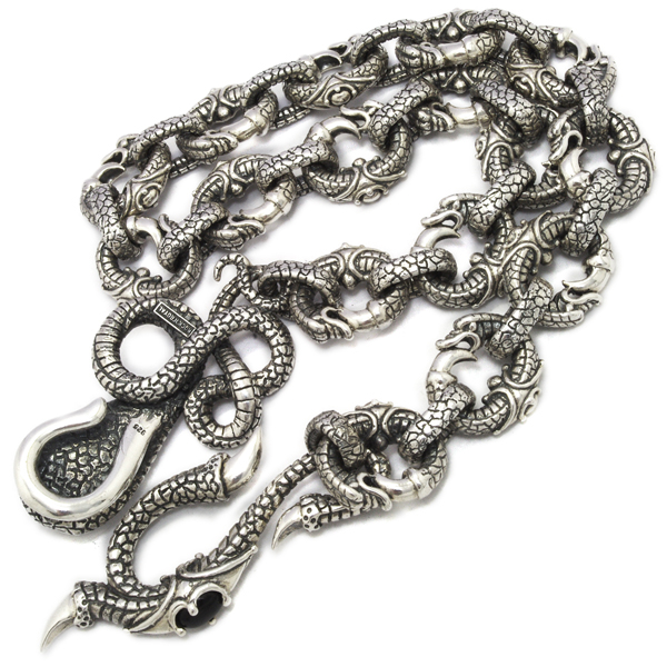 ROYAL ORDER(ロイヤルオーダー)  COBRA&REPTILE HOOK WLARGE REPTILE LINKS【SRRW400】