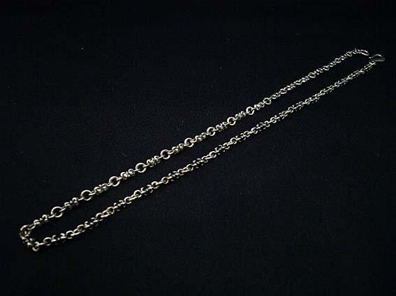 ROYAL ORDER(ロイヤルオーダー) タイニーCチェーン ネックレス 20インチ(約51cm) SN05-20