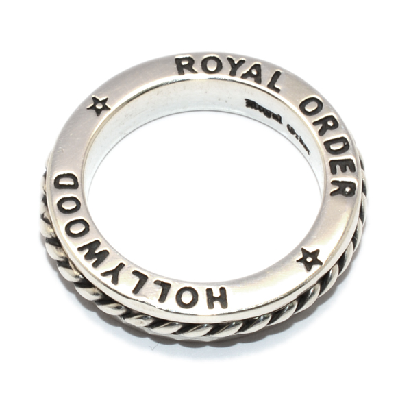 ROYAL ORDER(ロイヤルオーダー) SR137 ROMAN SPACER RING ローマンスペーサーリング