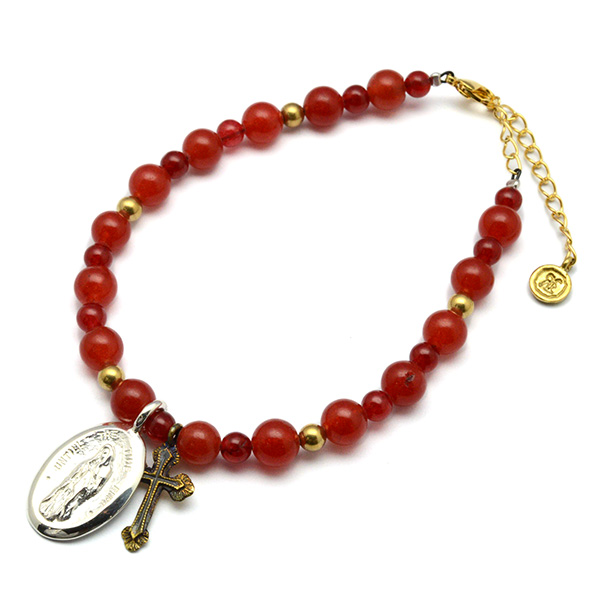 SAHRIVAR (シャフリーバル) Notre Dame Red Agate  Bracelet SB11S13S