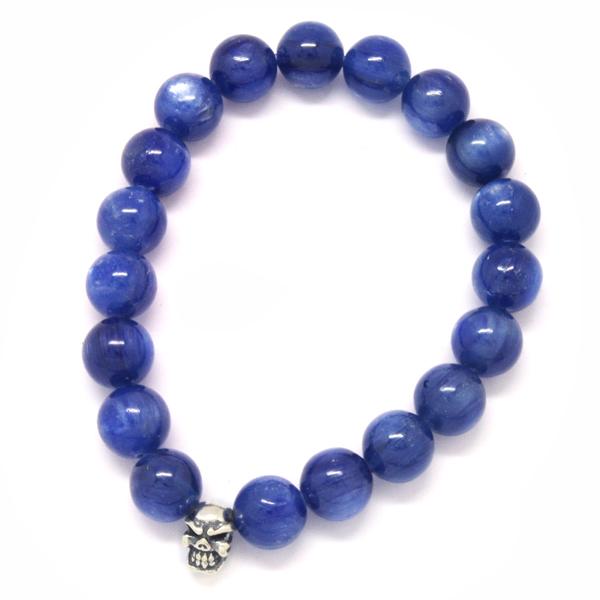 TRAVIS WALKER(トラヴィスワーカー) Kyanite Stone Bead Bracelet SBC004/カイアナイトストーンビーズブレスレット