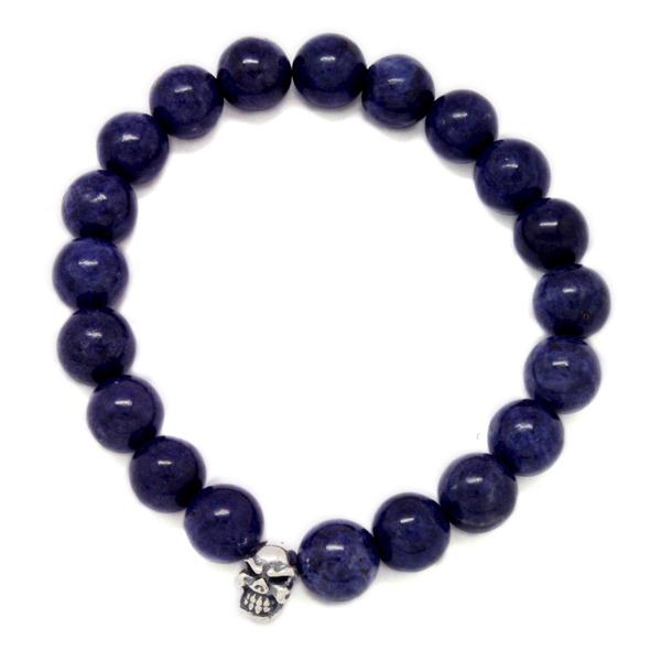 TRAVIS WALKER(トラヴィスワーカー) Sapphire Stone Bead Bracelet SBC006/サファイアストーンビーズブレスレット