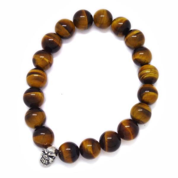 TRAVIS WALKER(トラヴィスワーカー) Yellow Tiger Stone Bead Bracelet SBC009/イエロータイガーストーンビーズブレスレット