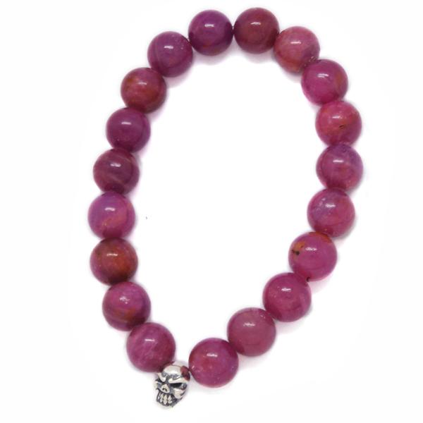 TRAVIS WALKER(トラヴィスワーカー) Ruby Stone Bead Bracelet SBC011/ルビーストーンビーズブレスレット