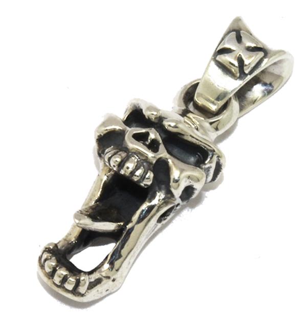 TRAVIS WALKER(トラヴィスワーカー) LA-TW012 Long Jaw Skull Pendant ロングジョースカルペンダント