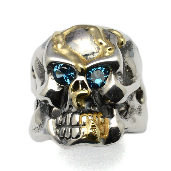 TRAVIS WALKER(トラヴィスワーカー) RGS001CSTM OG Skull Ring Custom