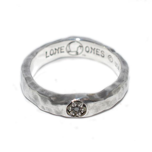 【ロンワンズ リング】LONE ONES Winter Small 1BK dia BNR-5S0004S